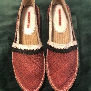 Authentic Prada shoes never worn